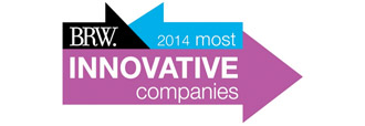 BRW 2014 most innovative companies logo